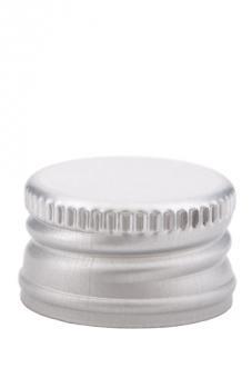 PP28 Schraubverschluss silber - ALU mit Gewinde
