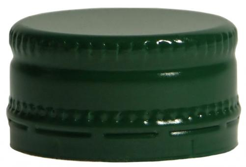 Schraubverschluss kurz MCA 28 x 15 grün Neutral ohne Druck !!!