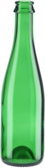 Sektflasche 375ml grün CC Wiegand