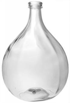 Glasballon 25000ml weiß gebohrt 40mm