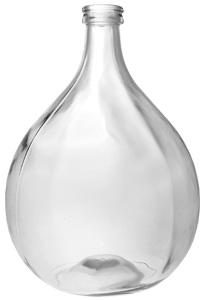 Glasballon 54000ml weiß blank 52mm