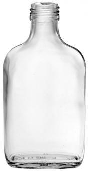 Taschenflasche 100ml weiß PP28