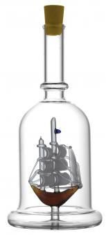 Schiff - Flasche 200ml weiß MGB Stück