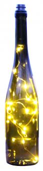 Flaschen-Lichterkette