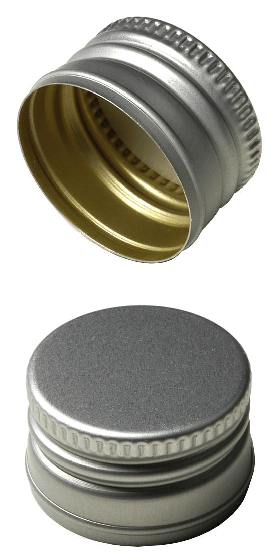 flaschenhandel giehl pp24 schraubverschluss silber alu mit gewinde online kaufen. Black Bedroom Furniture Sets. Home Design Ideas