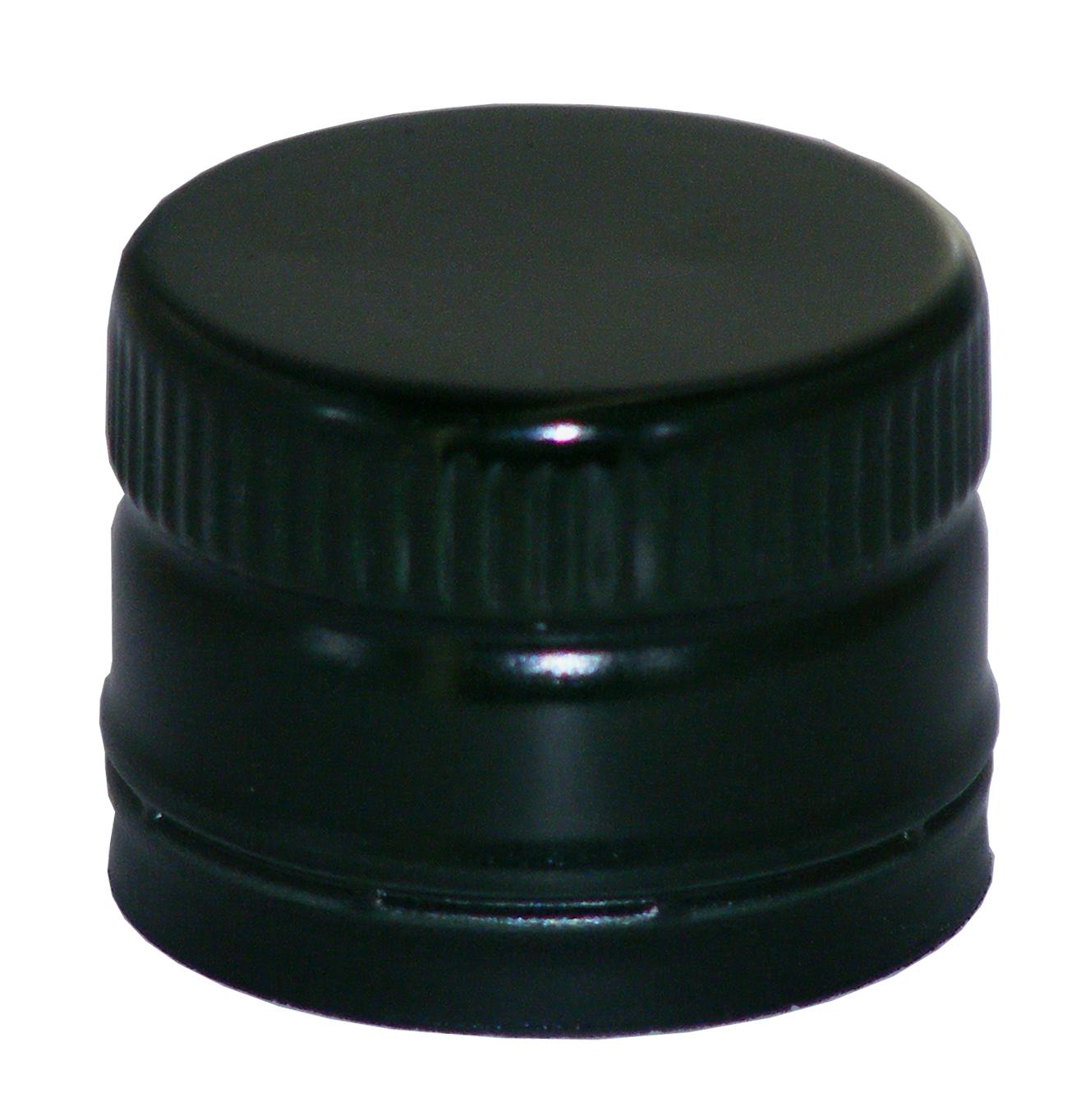 flaschenhandel giehl pp31 5 schraubverschluss schwarz alu mit ausgie er gewinde online. Black Bedroom Furniture Sets. Home Design Ideas
